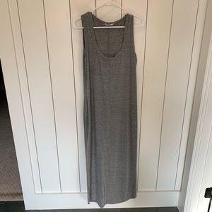 Marine Layer Grey Maxi Dress
